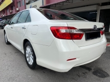 2013 TOYOTA CAMRY 2.0 G Actual Year Make 2013