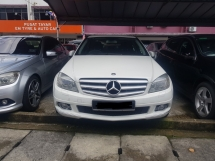 2010 MERCEDES-BENZ C-CLASS C200 CKD (A) LIKE NEW
