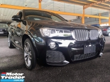 2016 BMW X4 M SPORT 2.0T (UNREG) 4 CAMERA IDRIVE