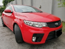 2012 KIA FORTE KOUP 2Door f/services reconds