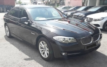 2013 BMW 5 SERIES 520i LOCAL FULL SERVICE RECORD