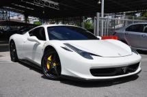 2012 FERRARI 458 ITALIA 4.5 F.CARBON PACKAGE NAZA F.REC