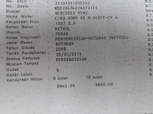 2009 MERCEDES-BENZ C-CLASS C180k AMG ORIGINAL TRUE YEAR MADE 2009 FREE 2 YEARS WARRANTY 2013