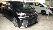 2015 TOYOTA VELLFIRE 2.5 ZG SUNROOD SPEC  $ PRE CRASH SYSTEM