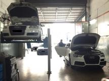 AUDI MERCEDES VOLKSWAGEN MINI BMW TOYOTA ENGINE TRANSMISSION GEARBOX AIRCOND OIL SERVICE CENTRE REPAIR WORKSHOP BENGKEL KERETA