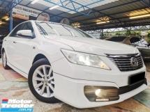 2012 TOYOTA CAMRY Toyota CAMRY 2.5 V (A) LEATHER B/KIT RevCAM WRRNTY