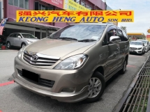 2010 TOYOTA INNOVA 2.0G TRUE YEAR MADE 2010 8 Seat MPV VVTi Engine Well maintain
