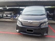 2010 TOYOTA VELLFIRE Toyota VELLFIRE 2.4 Z PLATINUM SPEC  2010 REG 2014