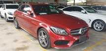 2015 MERCEDES-BENZ C-CLASS C200 AMG JAPAN SPEC NO HIDDEN CHARGES