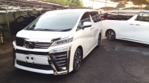 2019 TOYOTA VELLFIRE 2.5 ZG NEW MODEL FULL SPEC