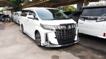 2018 TOYOTA ALPHARD 2.5 SC FULL SPEC WITH MODELLISTA BODYKIT JAPAN