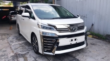 2019 TOYOTA VELLFIRE 2.5 ZG WITH SUNROOF / 3 LED & DIM