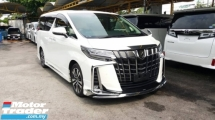 2018 TOYOTA ALPHARD 2.5 SC SUNROOF/TRIPLE LED/DIM/JAPAN MODELLISTA KIT
