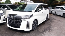 2018 TOYOTA ALPHARD 2.5 SC SUNROOF & DIGITAL INNER MIRROR