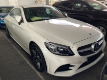 2019 MERCEDES-BENZ C-CLASS C300 AMG premium Coupe high spec facelift unregistered