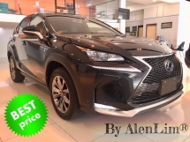 2017 LEXUS NX 200t FSPORT NX200t 2.0 turbo (UNREG) P/boot S/Red