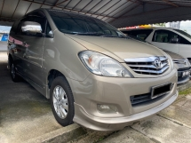2010 TOYOTA INNOVA 2.0 (A) G FACELIFT Actual Year Make 2010