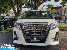 2017 TOYOTA ALPHARD 2.5 S A PACKAGE TYPE BLACK+SUNROOF+SST
