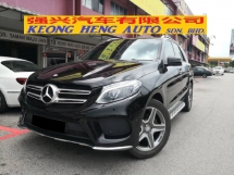 2016 MERCEDES-BENZ GLE GLE250d TRUE YEAR MADE 2016 CBU Diesel Turbo 55k km only Full Service Hap Seng Warranty 2021 204BHP
