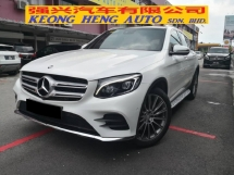 2016 MERCEDES-BENZ GLC 250 AMG TRUE YEAR MADE 2016 CKD Mil 63k km Full Service Hap Seng Warranty Oct 2020