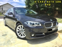 2015 BMW 5 SERIES 520I 2.0 Facelift LCI Sedan ONTHEROAD PRICE