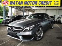 2018 MERCEDES-BENZ C-CLASS C200 Coupe AMG Line