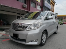 2010 TOYOTA ALPHARD 2.4 G Spec TRUE YEAR MADE 2010 ((( FREE 2 YEARS WARRANTY ))) 2 Elec Seat 2 Power Doors 7 Seat