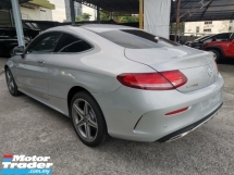 2017 MERCEDES-BENZ C-CLASS 200 Coupe AMG Line Premium Plus Unregister