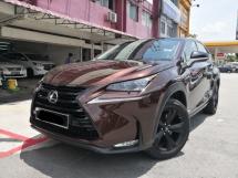 2017 LEXUS NX 200T SPECIAL EDITION TRUE YEAR MADE 2017 CBU Lexus Malaysia Mil 68k Under Warranty JUNE 2022