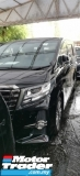 2017 TOYOTA ALPHARD 2.5 SA TYPE BLACK GOLD UNREG.TRUE YEAR CAN PROVE.HALF SST.7 SEATS.3POWER DRS N BOOT.360 SURROUND CAM