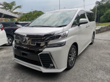 2015 TOYOTA VELLFIRE 2.5 ZG JBL LEATHER SUN ROOF RECON 2 YEAR WARRANTY