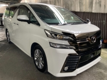 2017 TOYOTA VELLFIRE 2.5 Golden Eye surround camera power boot 2 power doors unregistered