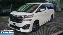 2017 TOYOTA VELLFIRE 3.5 EXECUTIVE LOUNGE