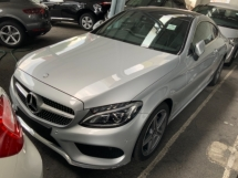 2017 MERCEDES-BENZ C-CLASS C200 AMG Coupe Full spec Premium Burmester sound system Panoramic roof memory seat Unregistered
