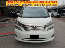 2010 TOYOTA VELLFIRE 3.5 VL MODEL (FREE 2 YEARS CAR WARRANTY)