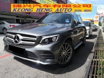 2016 MERCEDES-BENZ GLC 250 AMG CBU TRUE YEAR MADE 2016 Mil 41k km Only Full Service Hap Seng ((( FREE 2 YEARS WARRANTY )))