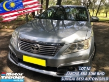 2013 TOYOTA CAMRY 2.5 V  (A) XV50 [SELL BELOW MARKET] 1 OWNER