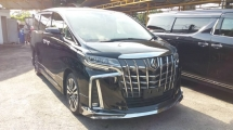 2018 TOYOTA ALPHARD 2.5 SC FULL SPEC WITH MODELLISTA BODYKIT(JAPAN)
