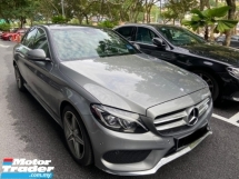 2016 MERCEDES-BENZ C-CLASS C250 AMG LINE 2.0 CKD LOCAL SPEC FULL SERVICE RECORD WARRANTY TILL DEC 2021