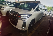 2019 TOYOTA ALPHARD 2.5 SC FACELIFT ALPINE SOUND SUNROOF LANE ASSIST PRE CRASH 2019 JAPAN UNREG