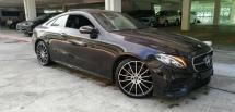 2017 MERCEDES-BENZ E-CLASS E300 AMG coupe 2017