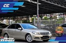 2011 MERCEDES-BENZ C-CLASS C200 CGi Richest Gold Colour