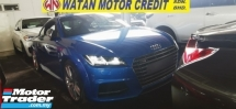 2017 AUDI TTS 2.0 QUATTRO UNREGIST FULLSPEC.TRUE YEAR CAN PROVE.HALF SST.B N O SOUND SYSTEM.LED LIGHT.PADDLE SHIFT