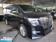 2015 TOYOTA ALPHARD 2.5 S 8 Seater Unregister 2 Year Warranty