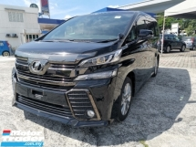 2016 TOYOTA VELLFIRE 2.5 ZA Golden Eyes Unregister 2 Year Warranty
