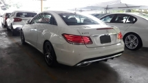 2014 MERCEDES-BENZ E-CLASS E200 Coupe AMG Spec Unregistered