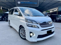2013 TOYOTA VELLFIRE 2.4 Z GOLDEN EYES FACELIFT
