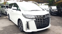 2019 TOYOTA ALPHARD 2.5 SC WITH SUNROOF/TRIPLE LED/DIM