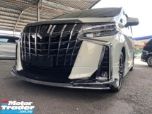2018 TOYOTA ALPHARD 2.5 SC BODYKIT JBL 3 LED FULL SPEC UNREGISTERED