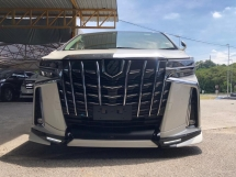 2018 TOYOTA ALPHARD 2.5 SC SUNROOF 3 LED UNREGISTERED